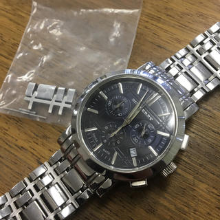 バーバリー(BURBERRY)のBURBERRY 腕時計 BU1360 クロノグラフ メンズ ウォッチ(金属ベルト)