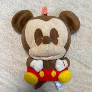 ディズニー(Disney)のミッキー マスコット 定期入れ(ぬいぐるみ)
