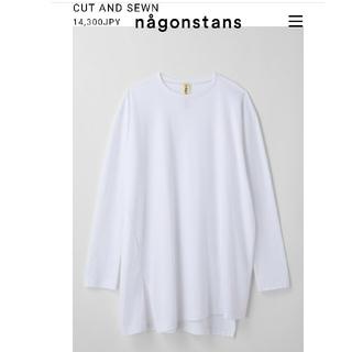 エンフォルド(ENFOLD)のナゴンスタンス アシンメトリー カットソー 14300円(Tシャツ(長袖/七分))