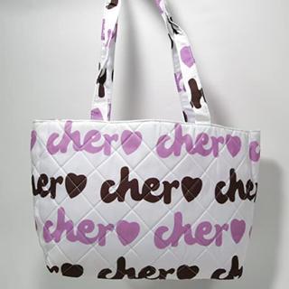 シェル(Cher)のcher ふわふわキルティングトート(トートバッグ)