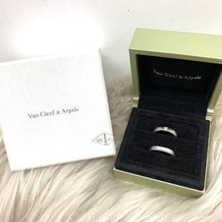 ヴァンクリーフアンドアーペル(Van Cleef & Arpels)のヴァンクリーフ&アーペル ダイヤ ペアリング PT950(リング(指輪))