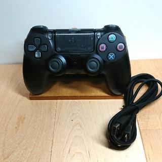 プレイステーション4(PlayStation4)の【新品】有線 PlayStation 4 互換品 コントローラー 【ブラック】(その他)