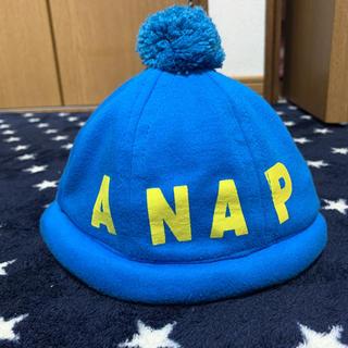アナップキッズ(ANAP Kids)のANAP ゴム紐付き帽子(帽子)