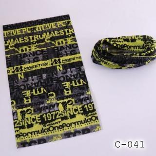 ◆即納◆ 薄手 ネックウォーマー バンダナ メンズ レディース 帽子 C-041(ネックウォーマー)