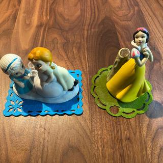 ディズニー(Disney)のDisney 一輪挿し アナ雪 白雪姫 ベルメゾン(花瓶)