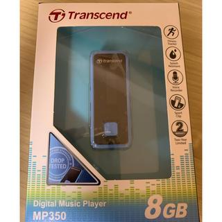 トランセンド(Transcend)のTranscend MP3プレーヤー MP350  8GB(ポータブルプレーヤー)