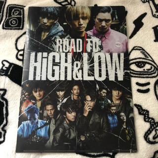 ROAD TO HIGH&LOW クリアファイル(ミュージシャン)