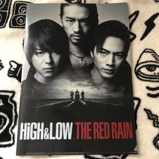 HIGH&LOW THE RED RAIN クリアファイル(ミュージシャン)