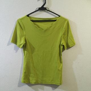 ストロベリーフィールズ(STRAWBERRY-FIELDS)のリブTシャツ(Tシャツ(半袖/袖なし))