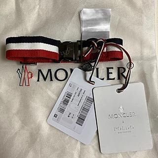 モンクレール(MONCLER)のMONCLER 19AW COLLARE 犬用首輪 トリコロール国内正規品 (犬)