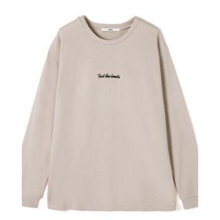 グレイル(GRL)の早い者勝ち!新品未使用1点のみ!ロングTシャツ(Tシャツ/カットソー(七分/長袖))