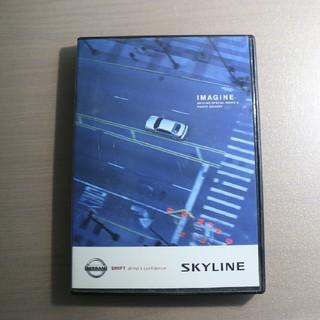 ニッサン(日産)の日産 V35スカイライン DVD ポストカードつき(カタログ/マニュアル)