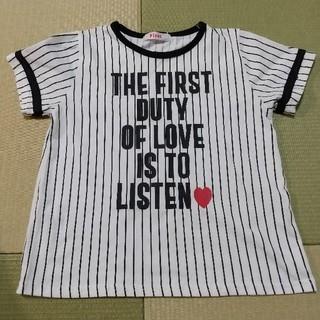 イングファースト(INGNI First)のイングファースト ストライプTシャツ 140(Tシャツ/カットソー)
