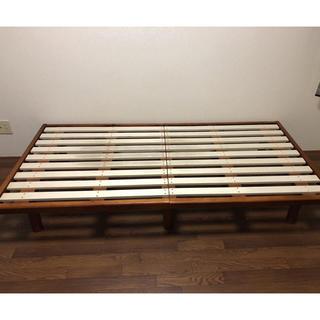 組み立て式ベッド(すのこベッド)