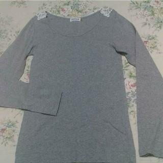 レプシィム(LEPSIM)のLEPSIMレース付きTシャツ(Tシャツ(長袖/七分))