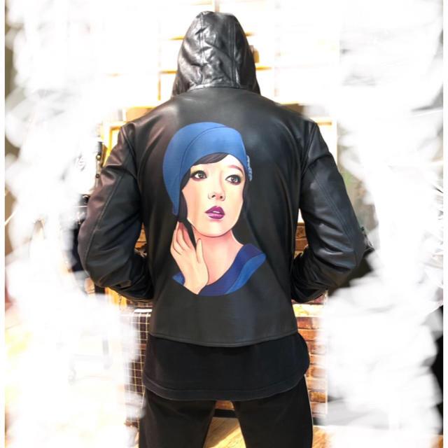 Yohji Yamamoto(ヨウジヤマモト)の【希少商品】Yohji Yamamoto POUR HOMMEレザージャケット メンズのジャケット/アウター(レザージャケット)の商品写真