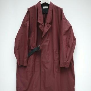 ジエダ(Jieda)のJieda 17ss big coat (BUR)(ステンカラーコート)