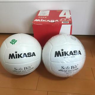 MIKASA - レア商品 ミカサ バレーボール 4号球 2球セットママさんバレー 中学生向き