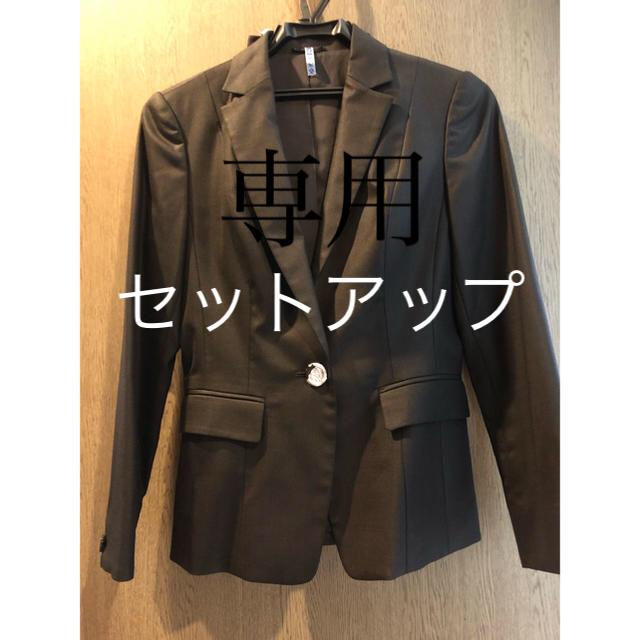 ANAYI(アナイ)のアナイ ジャケットandスカート セット レディースのフォーマル/ドレス(スーツ)の商品写真