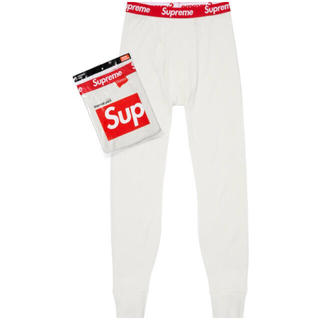 シュプリーム(Supreme)のHanes® Thermal Pant / Natural Sサイズ(その他)