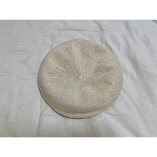 ローリーズファーム(LOWRYS FARM)の麻ベレー帽(ハンチング/ベレー帽)