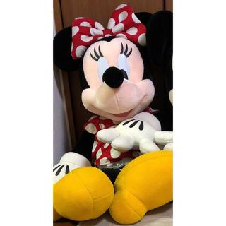ディズニー(Disney)のミニー 特大 ぬいぐるみ (ぬいぐるみ)