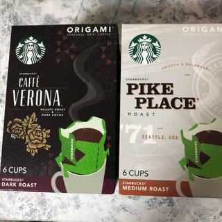 スターバックスコーヒー(Starbucks Coffee)のスタバ オリガミ 12袋(コーヒー)