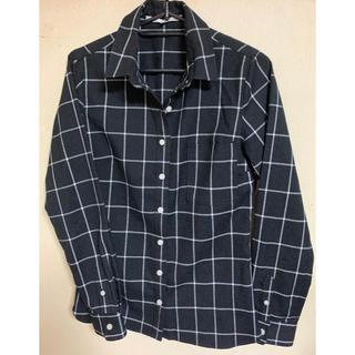 グーコミューン(GOUT COMMUN)のグーコミューン ブラック チェックシャツ(シャツ/ブラウス(長袖/七分))