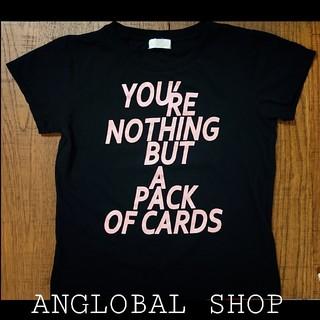 アングローバルショップ(ANGLOBAL SHOP)のANGLOBAL SHOP ロゴTシャツ(Tシャツ(半袖/袖なし))