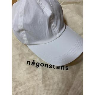 エンフォルド(ENFOLD)の【さや様専用】ナゴンスタンス キャップ 白(ホワイト)(キャップ)