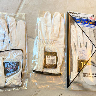 ウィルソン(wilson)の新品ゴルフ手袋(その他)