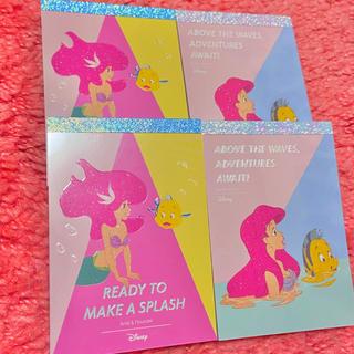 ディズニー(Disney)の新品❤ディズニー❤アリエル❤メモ帳❤バラメモ/ステラルー/バービー/ラプンツェル(キャラクターグッズ)