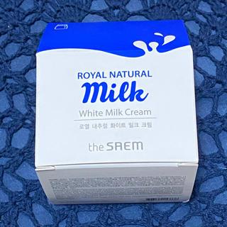 ザセム(the saem)のthe SAEM  White Milk Cream(フェイスクリーム)