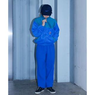 ヨウジヤマモト(Yohji Yamamoto)のdead stock vintage フランス軍 ブルー フリース セットアップ(ミリタリージャケット)