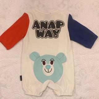 アナップキッズ(ANAP Kids)のAMAP way カバーオール(カバーオール)