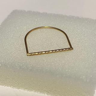 10k イエローゴールドリング ファランジリング(リング(指輪))