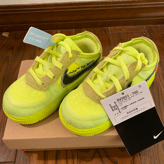 オフホワイト(OFF-WHITE)のNIKE OFF-WHITE AIR FORCE 1 VOLT THE 10(スニーカー)