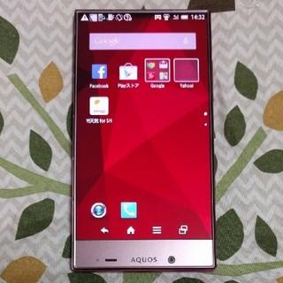 アクオス(AQUOS)のKOTORI様専用 シャープのスマートフォンAQUOS 402sh 美品(スマートフォン本体)