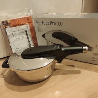ヴェーエムエフ(WMF)の豆しばさん専用 圧力鍋 3.0L 家庭用 パーフェクトプロ圧力鍋 WMF(鍋/フライパン)