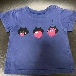 ネネット(Ne-net)のにゃ〜 tシャツ ベビー  キッズ サイズ80-90(Tシャツ)