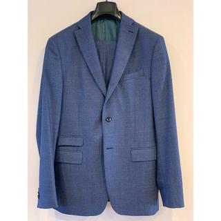 ザラ(ZARA)のZARA ウールのスーツ 明るいブルー 上50下44 送料込(セットアップ)