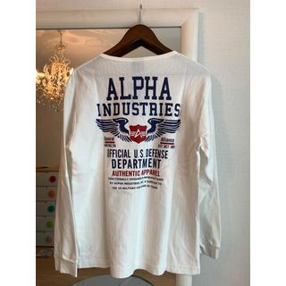 アルファ(alpha)の新品タグ付き☆ALPHAロンT(Tシャツ/カットソー(七分/長袖))