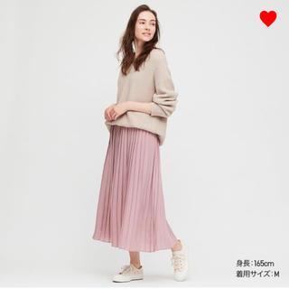 ユニクロ(UNIQLO)のユニクロ シフォンプリーツロングスカート (ロングスカート)
