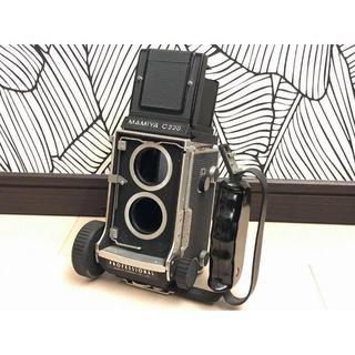 マミヤ(USTMamiya)の極上 マミヤ MAMIYA C220 PROFESSIONAL 二眼レフカメラ (フィルムカメラ)