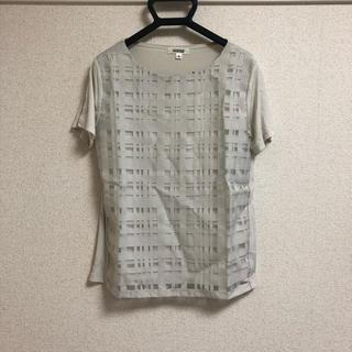 アルファキュービック(ALPHA CUBIC)のトップス グレー 半袖(カットソー(半袖/袖なし))