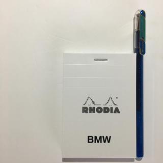ビーエムダブリュー(BMW)のRHODIA BMW おしゃれなロディアメモ帳(ノート/メモ帳/ふせん)