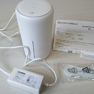 エーユー(au)のUQ wimax speed wi-fi HOME L02(PC周辺機器)