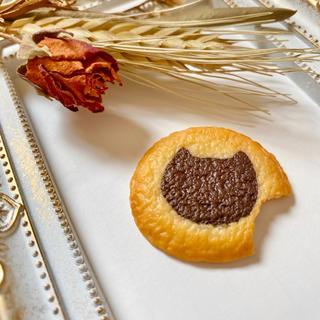 ネコクッキーマグネット(スマホストラップ/チャーム)