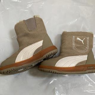 プーマ(PUMA)のPUMA コンテストスウェードブーツ ベビー ギッズ ブーツ ベージュ12センチ(ブーツ)