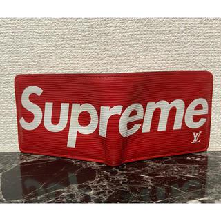 シュプリーム(Supreme)のルイヴィトン×シュプリーム 財布確認用(折り財布)